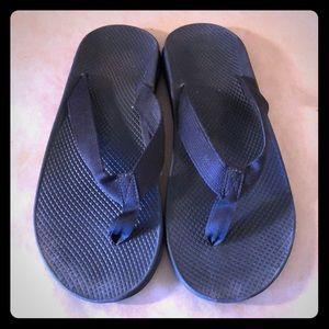 CHACO Black Flip Flop Sandals MENS
